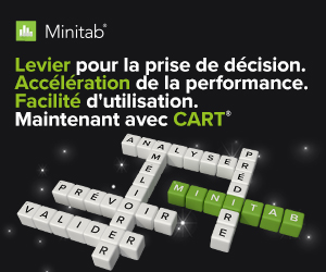 Minitab avec CART - analyse predictive et machine learning