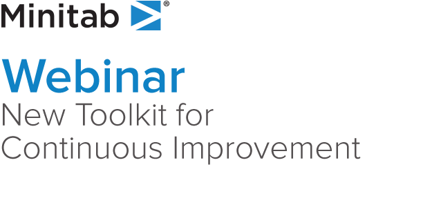Webinar - New Toolkit for Continuous Improvement