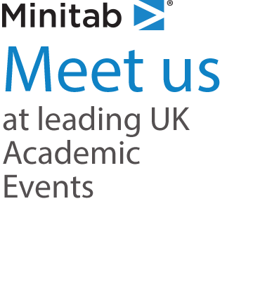 Meet Minitab at UK Leading Academic Events in 2019
